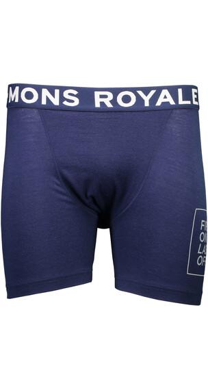 """Mons Royale M's Hold 'em Boxer Navy"""